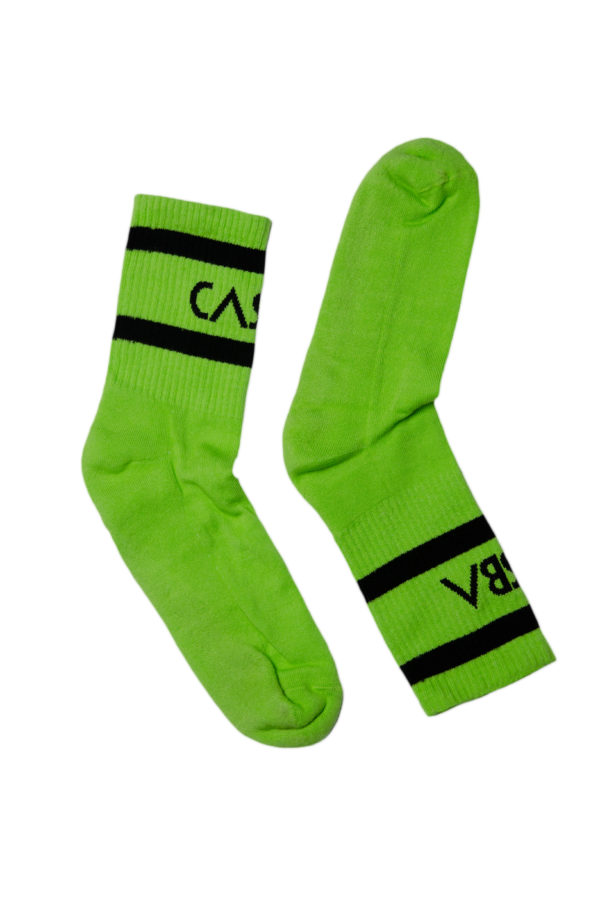 SOCKS GREEN MAN